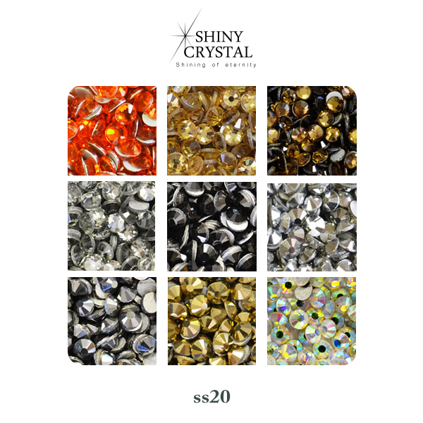 be2a77b0b A little larger ss20 Swarovski in the glow as close as cheap! Rhinestone  Crystal shinee ...