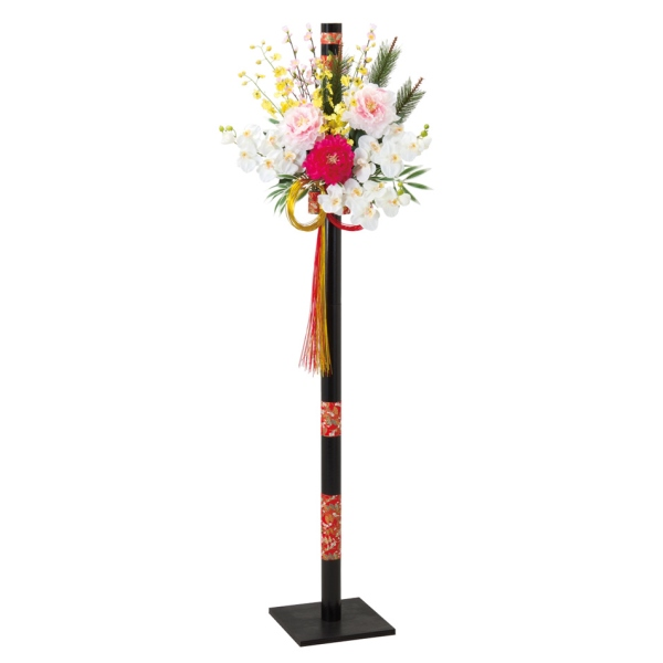 180cm正月千代紙スタンド(DE1372)[お正月 門松 飾り 装飾]