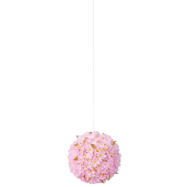 《光触媒》 (春・桜)30cm桜ボール(FLE7004LHI)[春 造花 デコレーション 桜 飾り 装飾 光触媒]