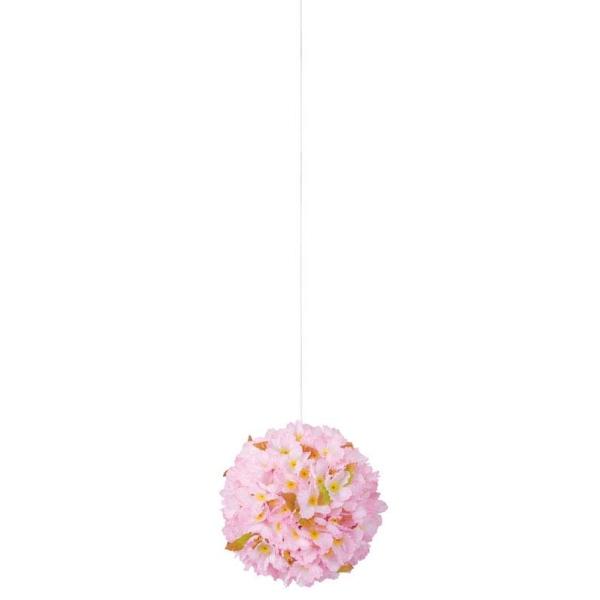 《光触媒》 (春・桜)24cm桜ボール(FLE7004MHI)[春 造花 デコレーション 桜 飾り 装飾 光触媒]