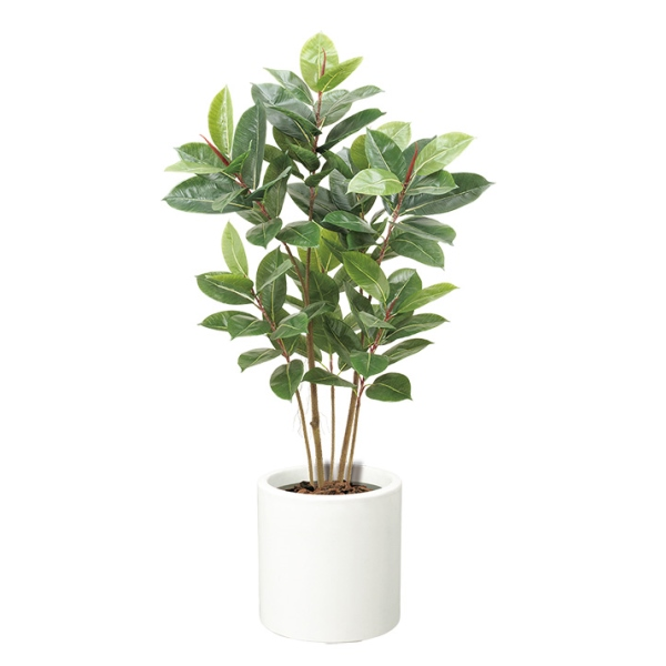 120cmゴムの木【フェイクグリーン(人工樹木)】《ポット別売り》