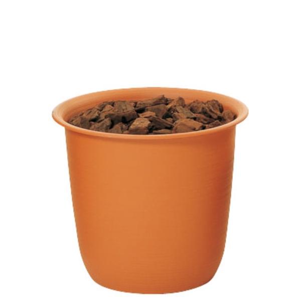 ツリーポット 7号(バーク付)(TP0007)[造花用 ポット 鉢 容器 オアシス ツリーポット 7号 バーク付 ブラウン 茶]