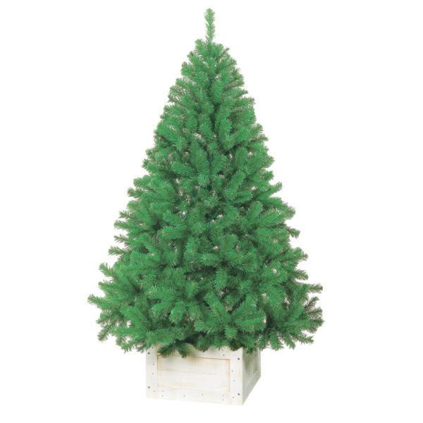 180cmパインツリー(HINGE)【防炎加工】(TXM2016)[クリスマス ツリー デコレーション 装飾 飾り パインツリー 緑 グリーン オーソドックス]