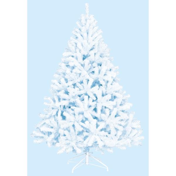 《光触媒》 (ツリー・ホワイト)210cmホワイトパインツリー(HINGE)(TXM2024HI)[クリスマス ツリー デコレーション 装飾 飾り 光触媒]