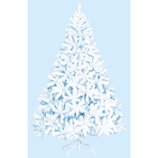 【光触媒】【防炎加工】240cmホワイトパインツリー(HINGE)【クリスマスツリー】