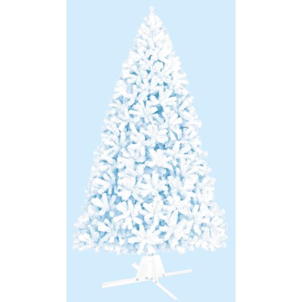 360cmホワイトパインツリー(4分割 1セット=2カートン)【防炎加工】(TXM2027)[クリスマス ツリー デコレーション 装飾 飾り]