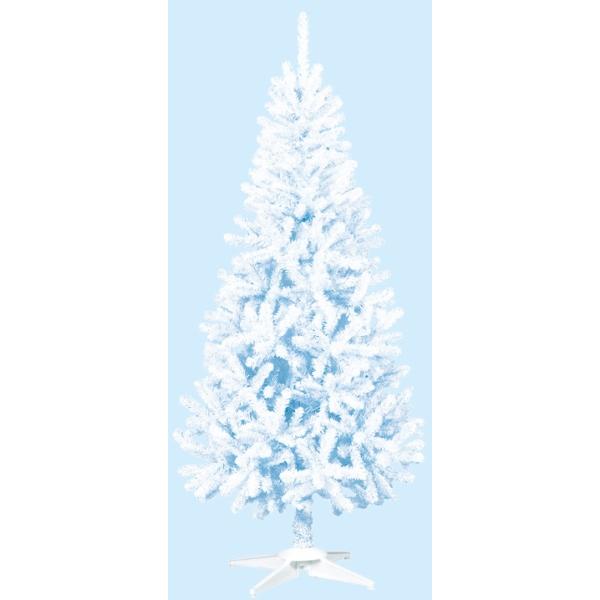 《光触媒》 (ツリー・ホワイト)180cmホワイトスリムツリー(FOLD)(TXM2039HI)[クリスマス ツリー デコレーション 装飾 飾り 光触媒]