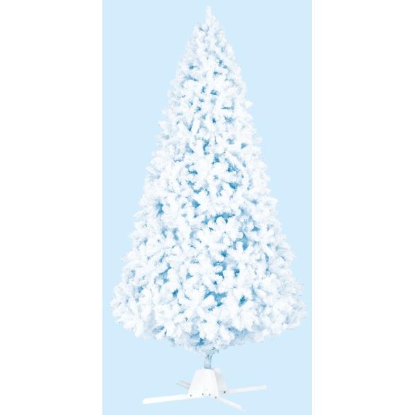 《光触媒》450cmホワイトパインツリー(5分割 1セット=4カートン(TXM2043HI)[クリスマス ツリー デコレーション 装飾 飾り 光触媒]