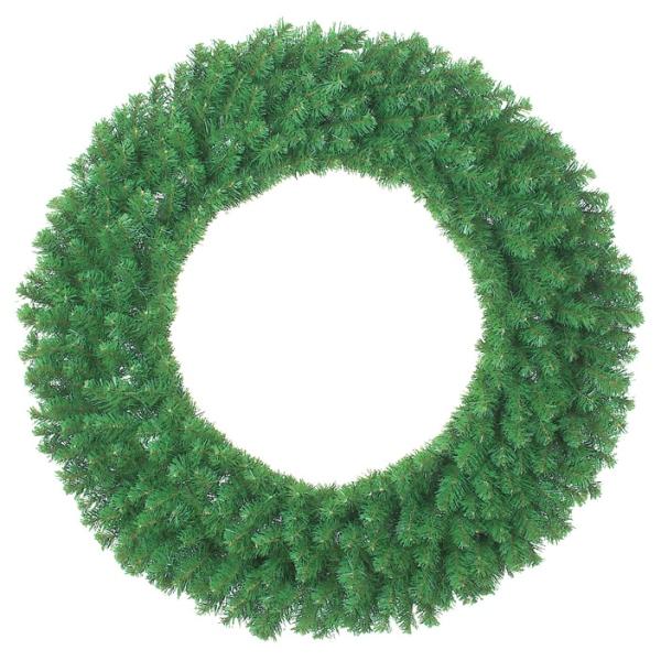 《光触媒》115cmコロラドリース(WXM4015HI)[クリスマス リース デコレーション 装飾 飾り 光触媒]