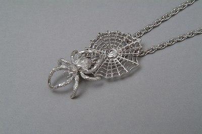 ZERO1 Collectionオリジナルペンダント「クモの巣」 【pair】【necklace】【smtb-m】