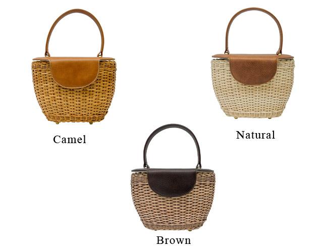 2015년 봄여름 입하 Capaf(카파후) 바구니 가방 등나무뚜껑 다해 핸드백