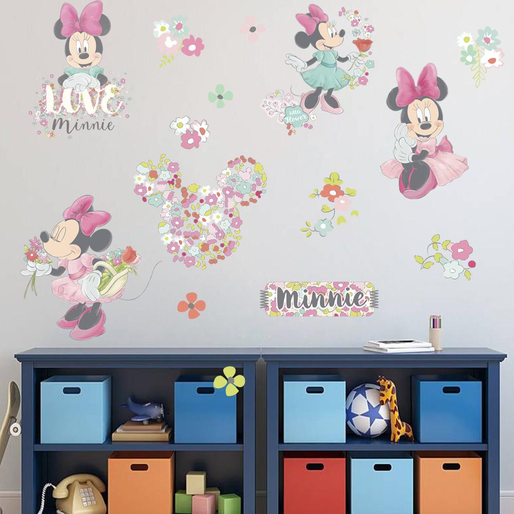 おすすめ 買収 送料無料 Disney MINNIE MOUSE ミニーマウス ウォルト #G69 ウォールステッカー ディズニー 30cm 20