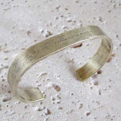 バングル メンズ レディース 真鍮 ハンドメイド ブラス brass bangle #2
