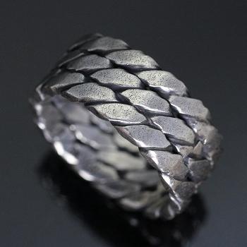 指輪 リング シンプル シルバー 送料無料 ハンドメイド アクセサリー メンズ ツイストトリプル1カラー 銀