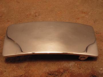 ベルト バックル レザー 革 メンズ シルバー 送料無料 ハンドメイド スターリングシルバー Plain3x7