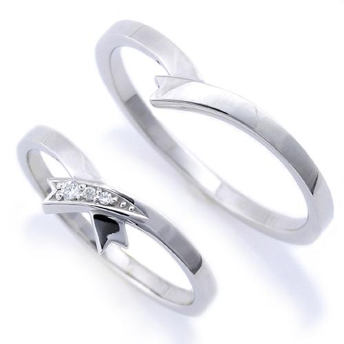 マリッジリング「リボンライン」【送料無料】ペア販売 Pt900 プラチナリング 結婚指輪 1本でもご購入いただけますので、お問い合わせ下さい。
