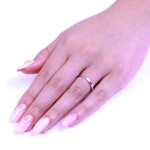 マリッジリング(結婚指輪)Pt900>ツインミル