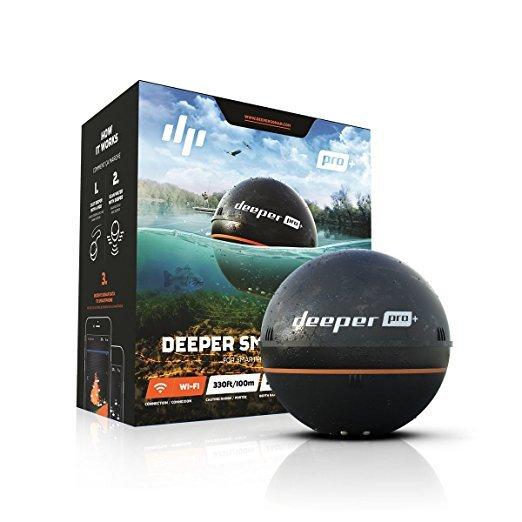 Deeper Pro+ (ディーパー プロプラス) ワイヤレススマート魚群探知機【送料無料】