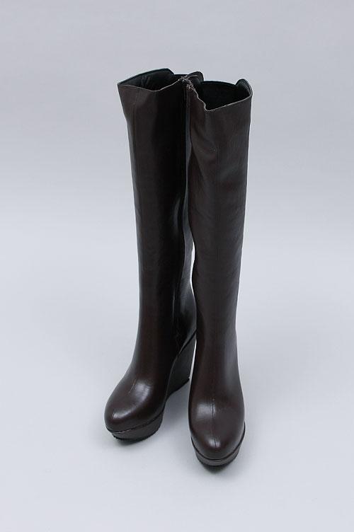 Wedge Heel Long Boots Casselini(キャセリーニ)