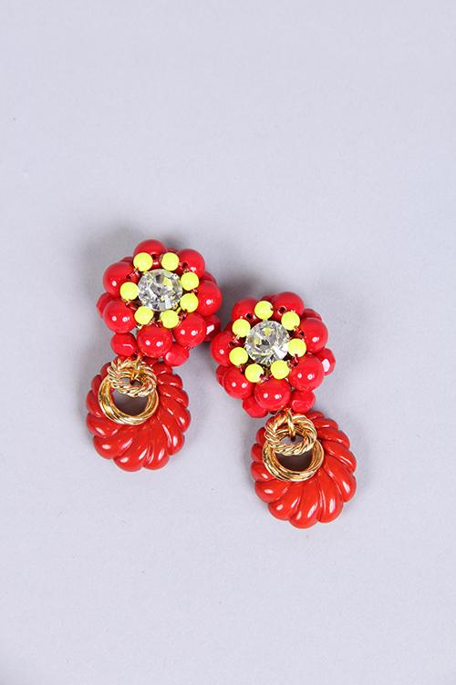 【70%OFF】Ring earrings (MA34EAC011) Muveil(ミュベール)