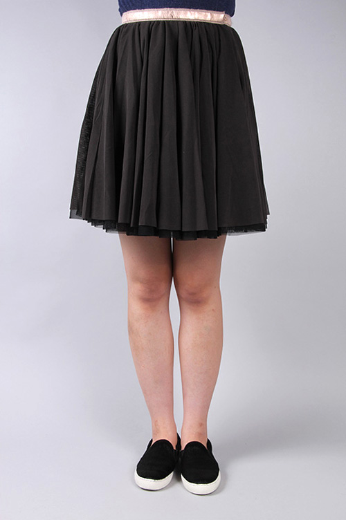 MLF4409 tulle skirt muller of yoshiokubo(ミュラー・オブ・ヨシオクボ)
