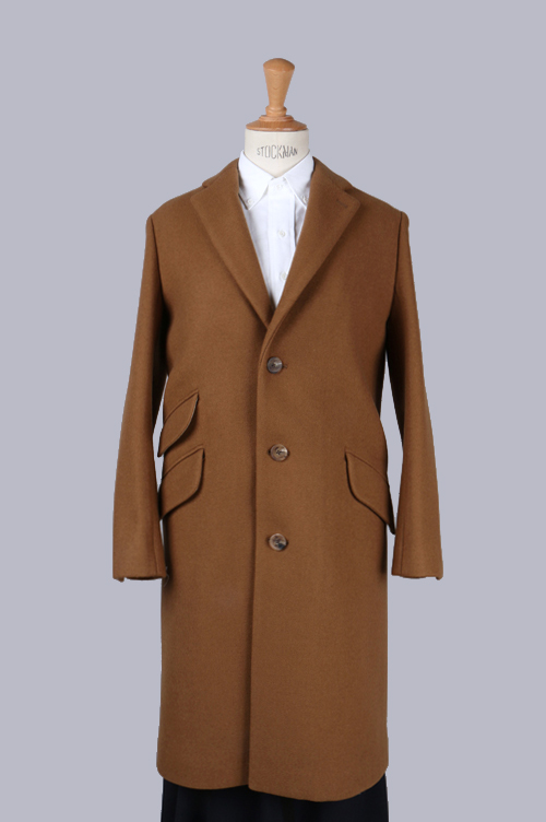 【50%OFF】Wool cashmere Chester Field Coat(5215-73502) SCYE BASICS -Women-(サイ・ベーシックス)