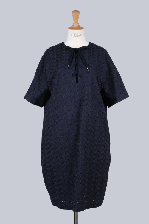 FLOWER EMBROIDERY DRESS (SG112041) Sacra(サクラ)