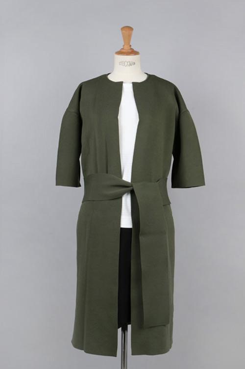 【50%OFF】Milanrib Light Knit Coat(05R-KNJK-02K) BLUEBIRD BOULEVARD(ブルーバード・ブルバード)