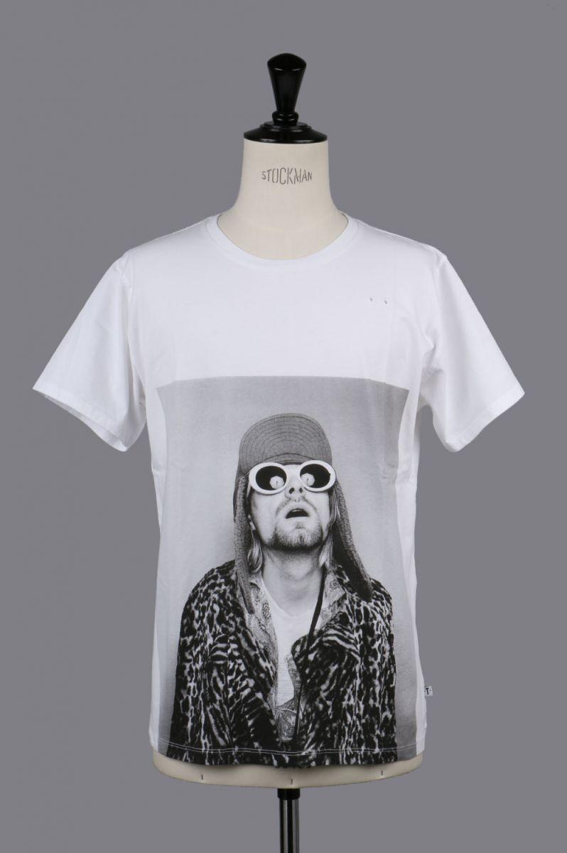 KURT 2 BW Unisex T-shirt (JFKURT21UCOWH) One・T・Shirt(ワン・ティー・シャツ)