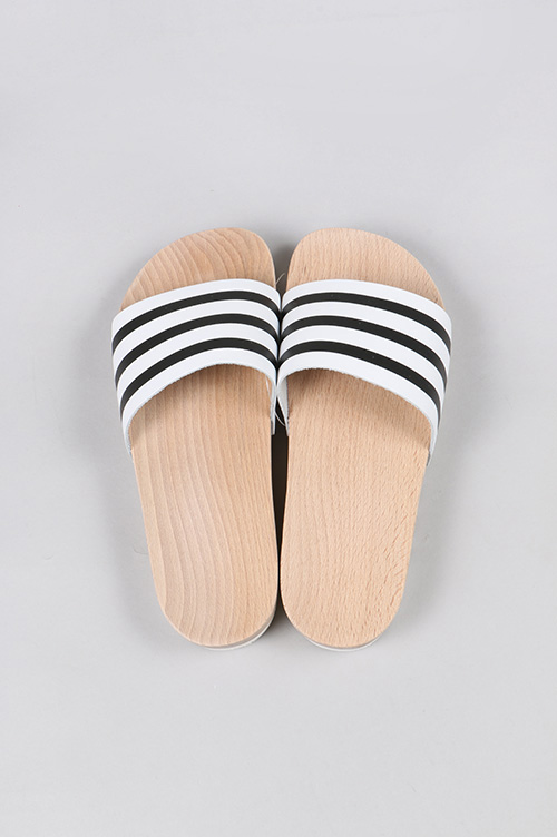 ADILETTE WOOD W (S79365 ) adidas Originals -Women-(아디다스・오리지나르스)