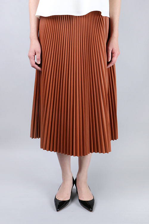 SYNTHETIC LEATHER PLEATS TL/SK(SG513121) Sacra(サクラ)