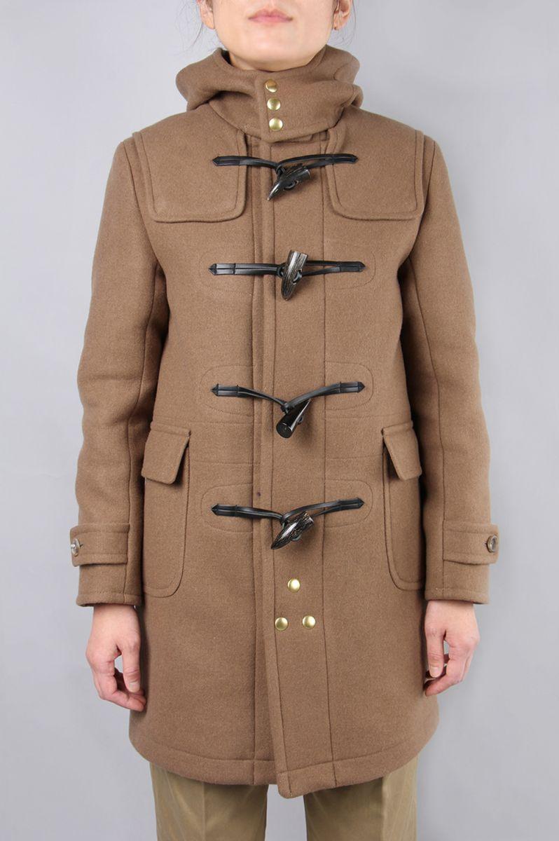 Wool cashmere Melton Duffle Coat 5216-73525) SCYE BASICS -Women-(サイ・ベーシックス)