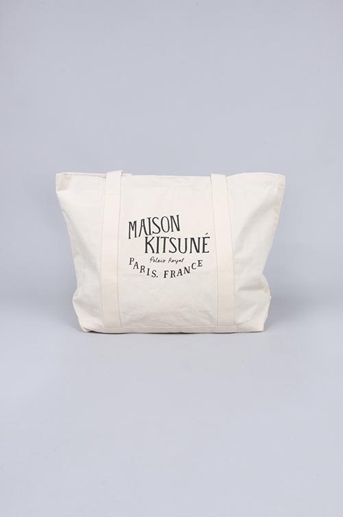 SHOPPING BAG PALAIS ROYAL (KUX8655) MAISON KITSUNE -Men-(メゾン・キツネ)