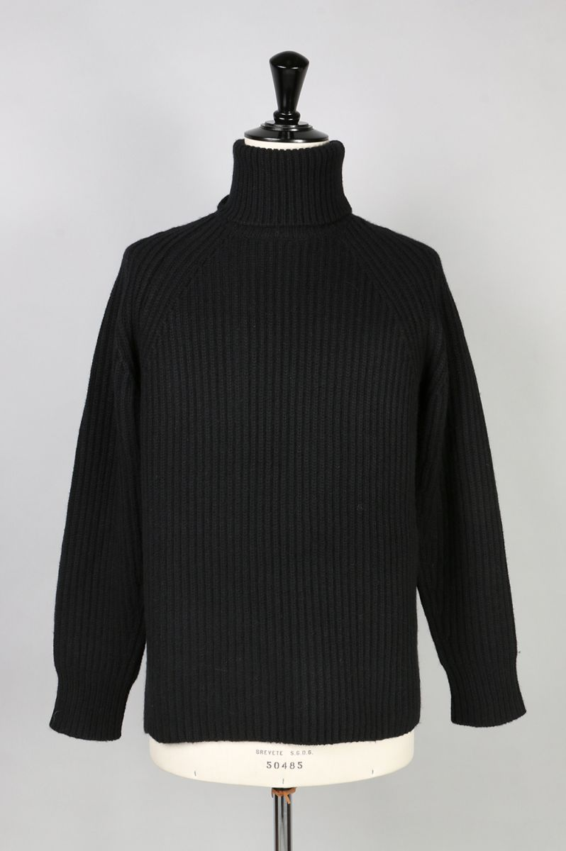 Wool And Cashmere - Blend Turtle Neck Sweater (1116-13114) SCYE BASICS -Men-(サイ・ベーシックス)