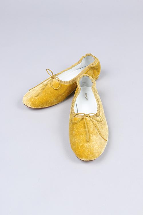 Velvet Barret shoes(PP16-VELVET BALLET22) PIPPICHIC(ピッピシック)