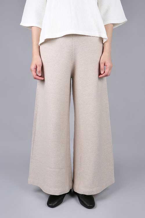 【50%OFF】Knit pants (30-2573) wa...lance(ワ・ランス)