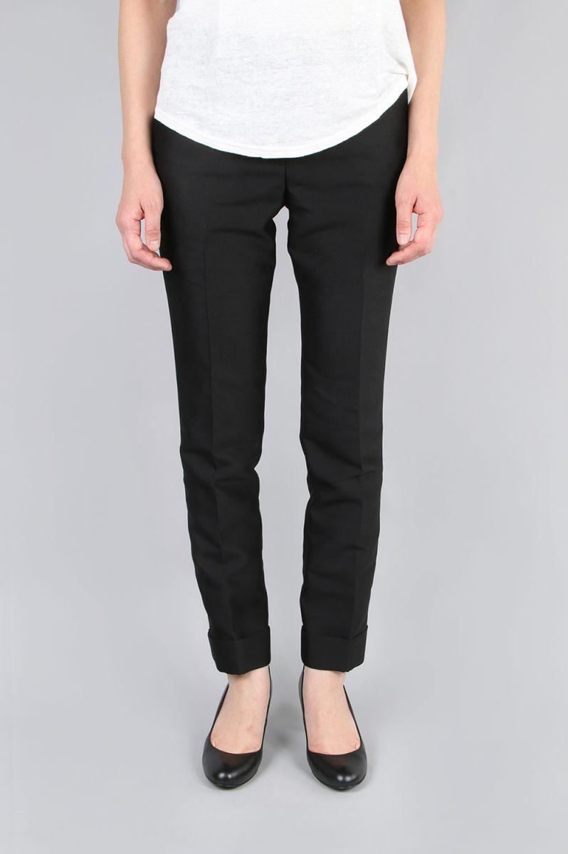 【70%OFF】Wool Silk Slim Trousers(EOS7628) Li Hua(リー・ファー)