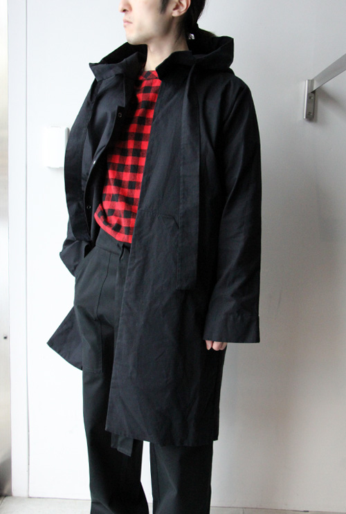 HOODED TRENCH (COT 17) Phoebe English(フィービー・イングリッシュ)