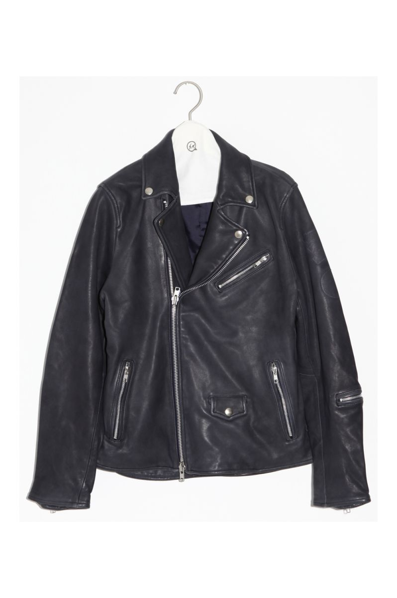 moto jacket (VFJ1019) Denim by Vanquish&Fragment(デニム・ バイ・ヴァンキッシュ・アンド・フラグメント)