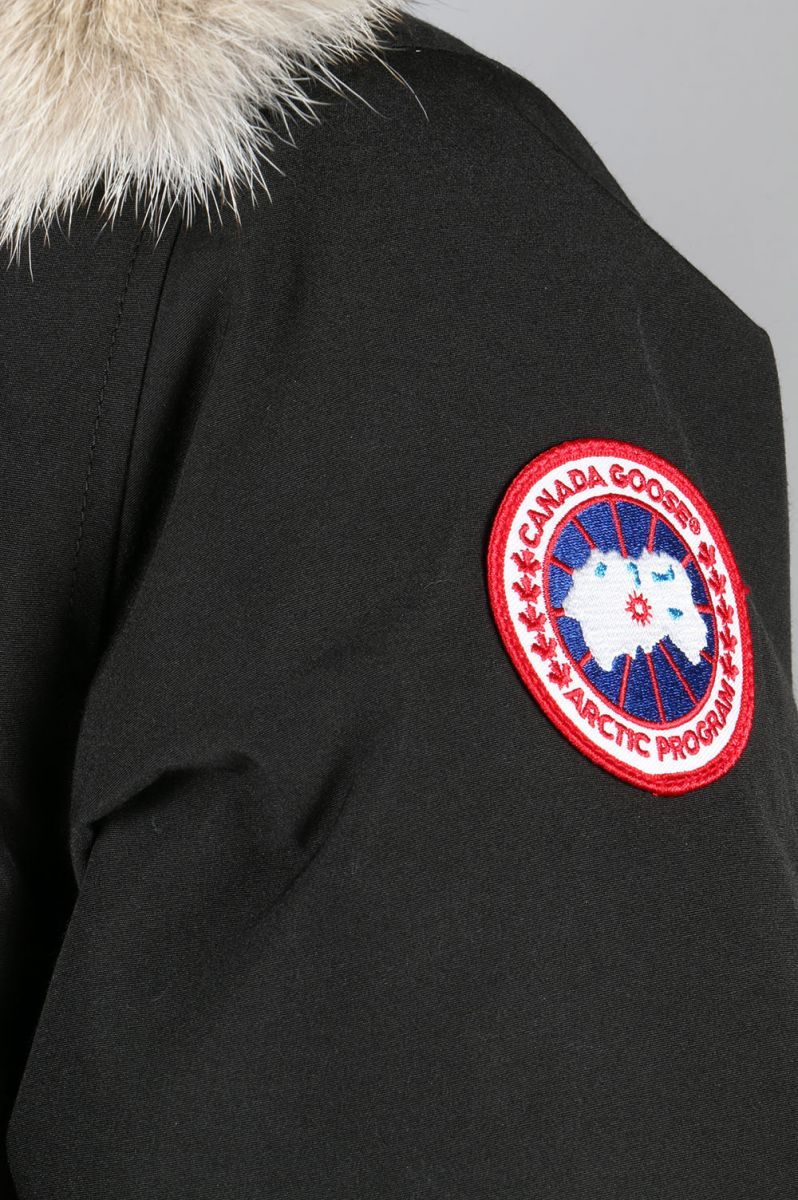 JASPER PARKA-BLACK(722040114)CANADA GOOSE-Men-(加拿大·鹅)