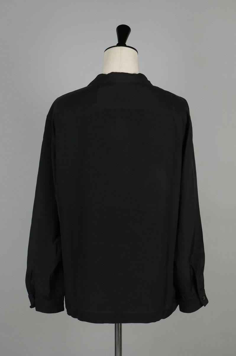 OPEN COLLAR SHIRT (US1235) UNUSED -Men-(안유즈드)
