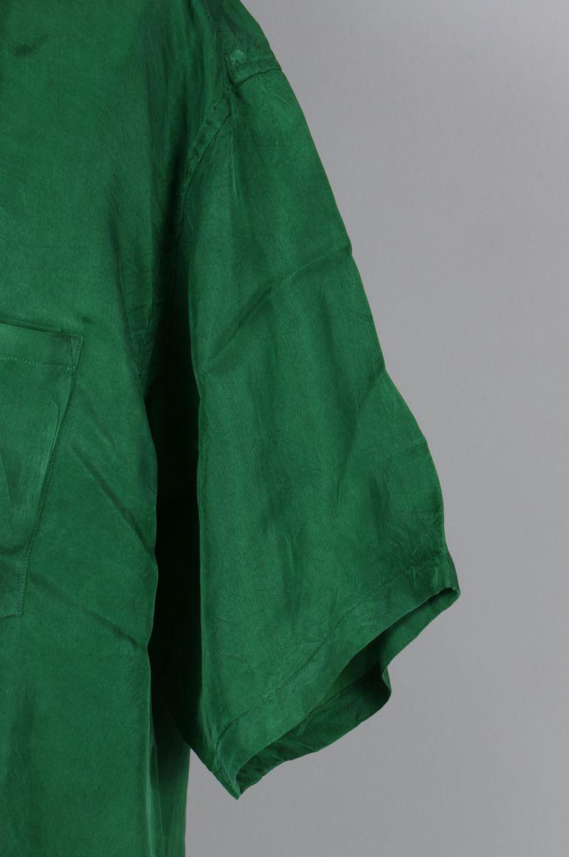 OPEN COLLAR SHORT-SLEEVE SHIRT (US1285) UNUSED -Men-(안유즈드)