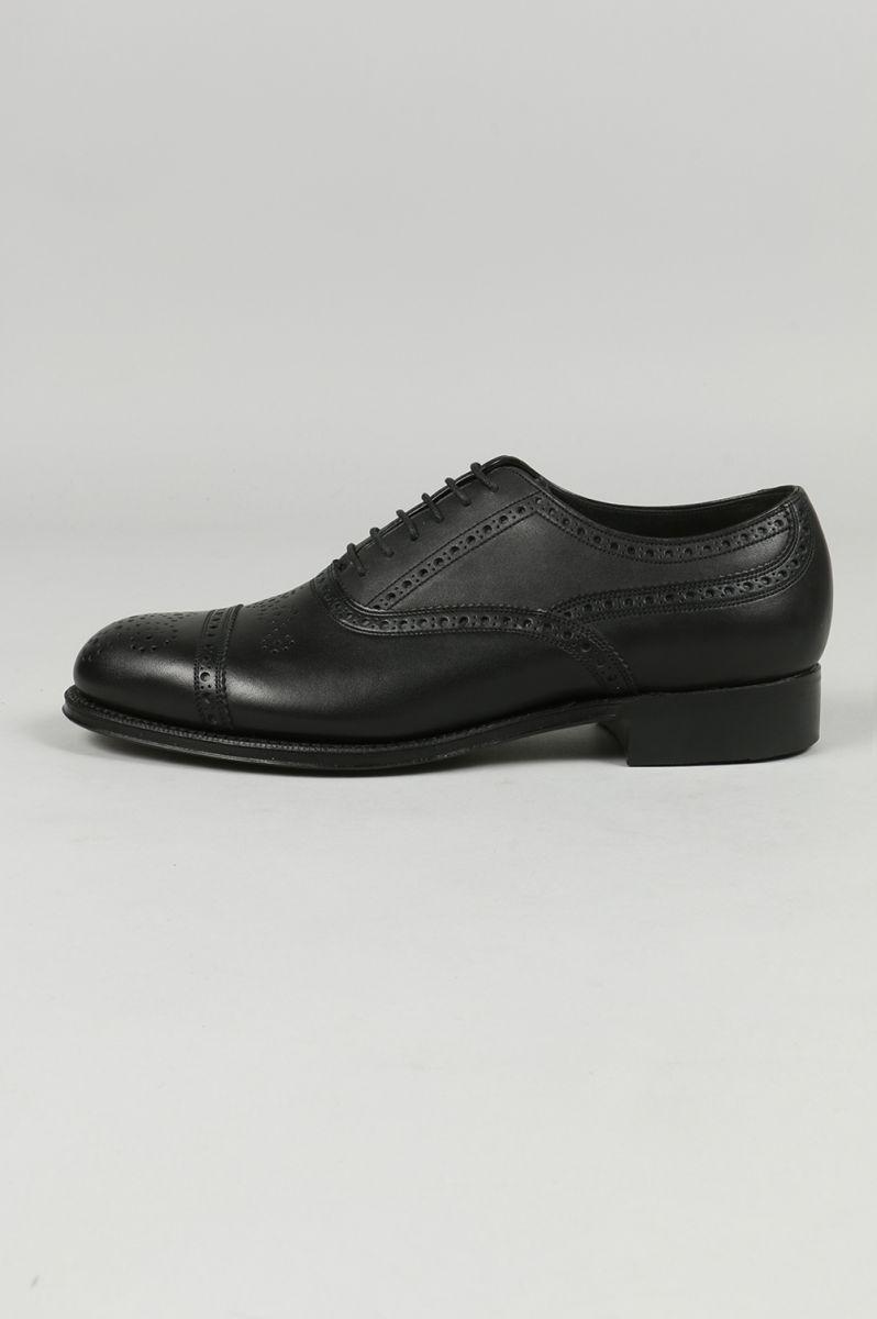 SEMI BROGUE SHOES (LEATHER SOLE) (FTC1414016) foot the coacher(フット・ザ・コーチャー)