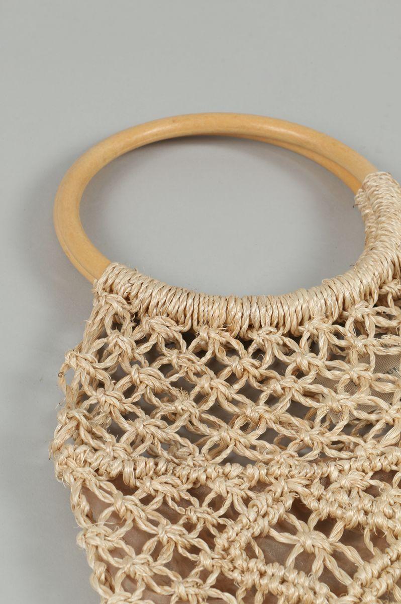Circlehand Abaca Bag-NATURAL(11711048)TODAYFUL(今天全面)