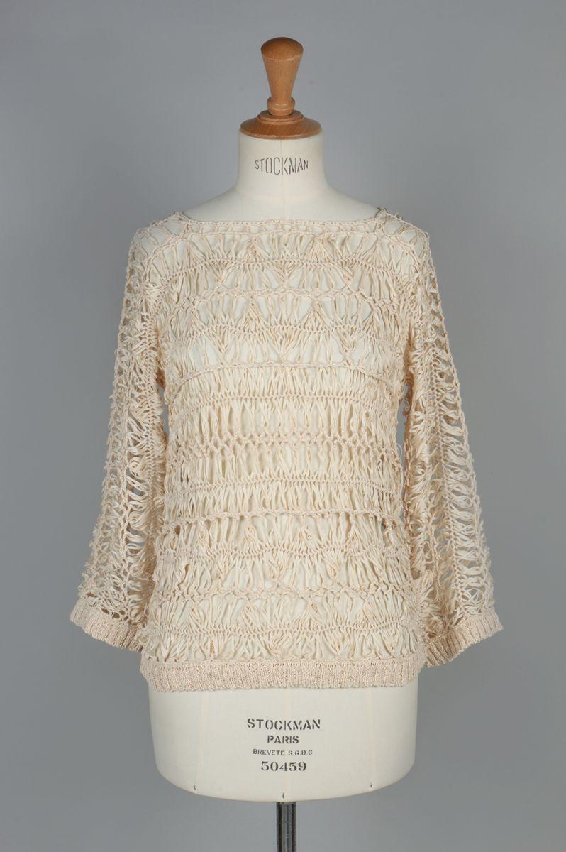 Crochet Loose Knit -BEIGE(11710531) Todayful(トゥデイフル)