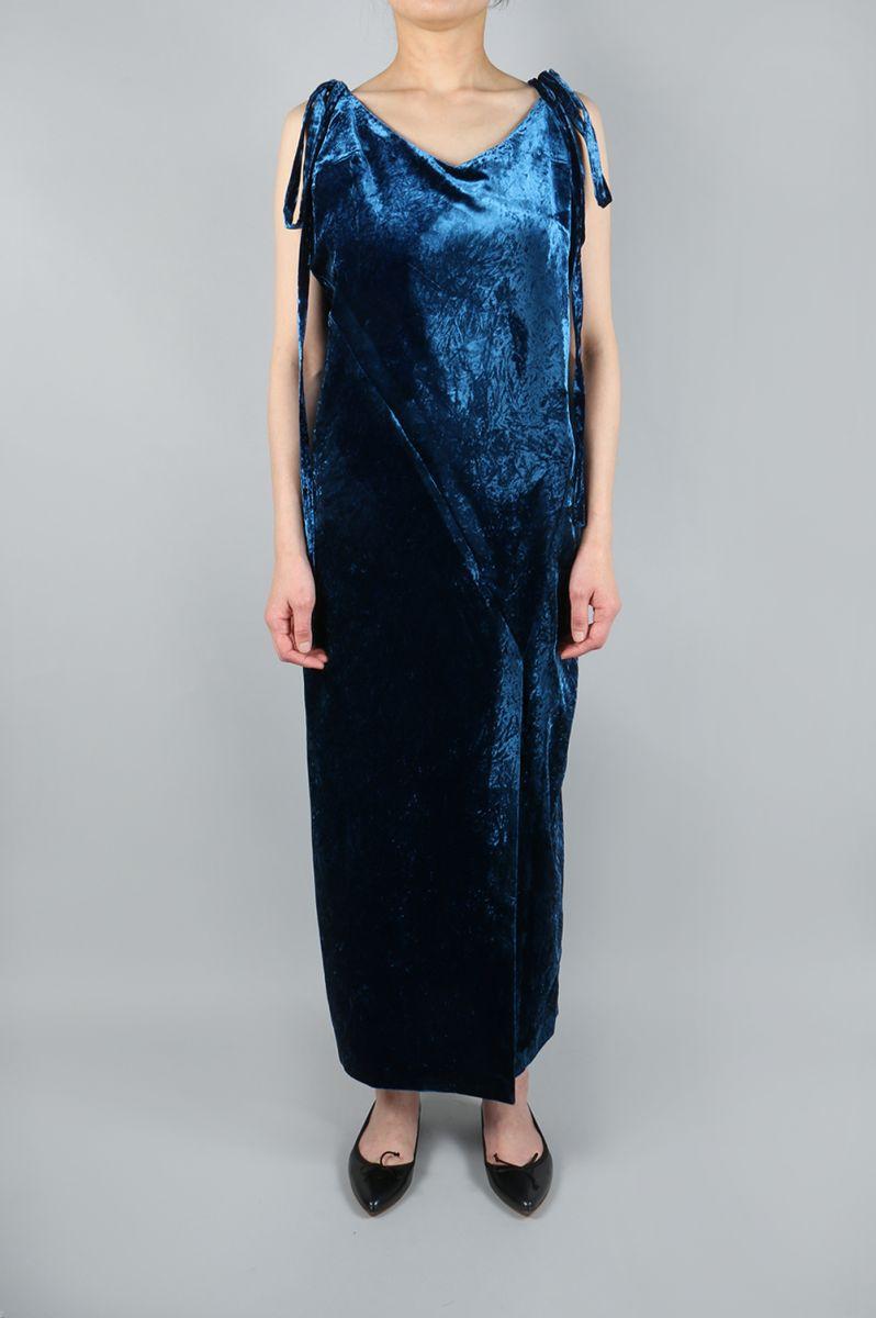 【40%OFF】CRUSHED VELVET DRESS(TNH17200-12) The Newhouse(ザ・ニューハウス)