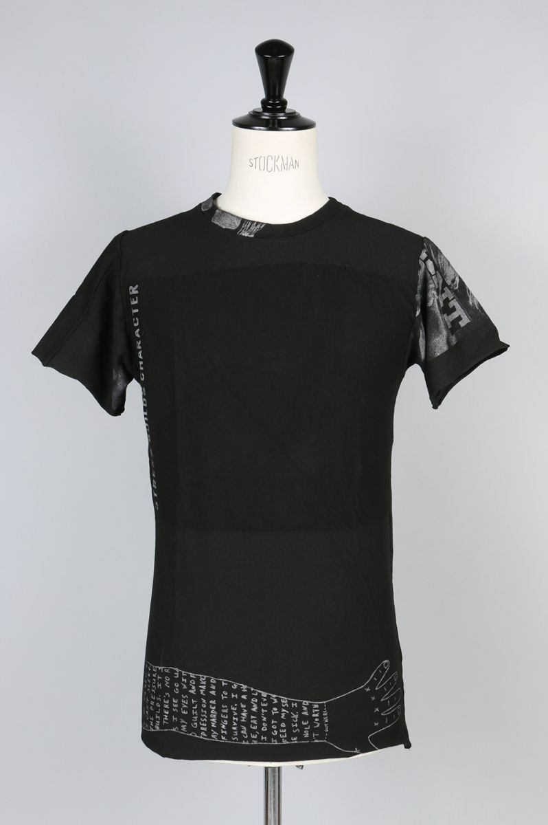 PATCHWORK TEE / B (BF_ S17_T07) BLACK FIST(ブラック・フィスト)