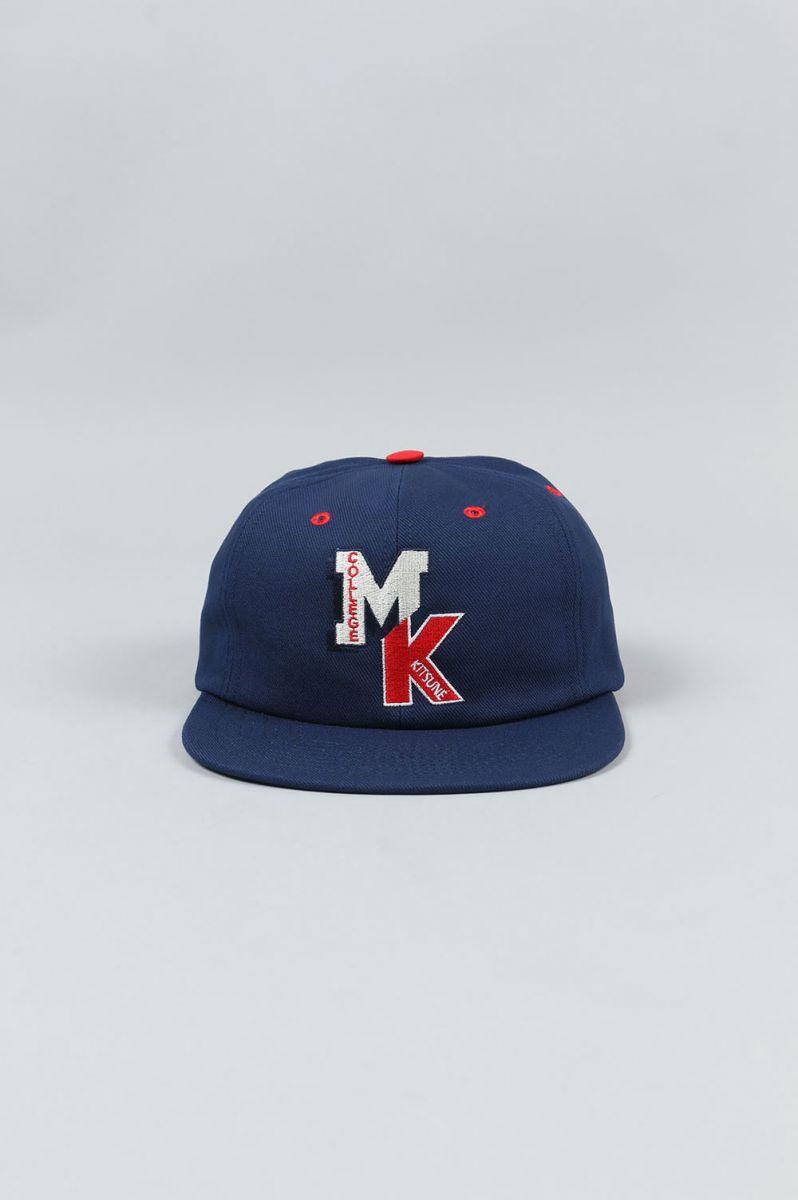 BASEBALL CAP MK COLLEGE (KUU8753) Maison Kitsune -Men-(メゾン・キツネ)