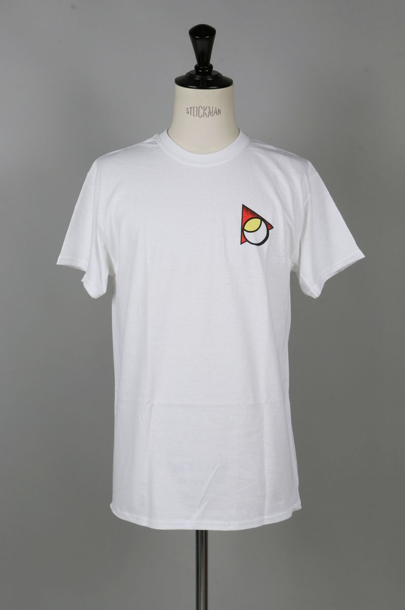 SIDE LINE TEE WHITE(MC-T0917-T4) Paterson(パターソン)