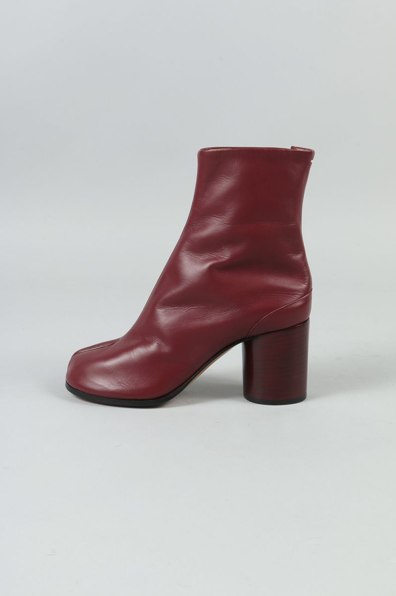 Tabi Ankle Boots-RED-(S58WU0136) Maison Margiela -Women-(メゾン・マルジェラ)